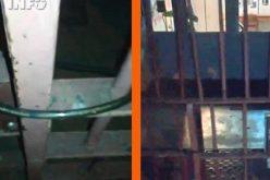 VIDEO – Se poate și mai rău ca la Huedin. Poliția Gherla, închisă cu lacătul. Cine e șef acolo? Parcă… trecuse pe la Huedin