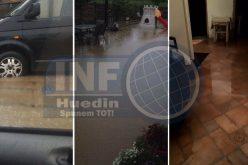 VIDEO – Prăpăd în Huedin, în urma ploii