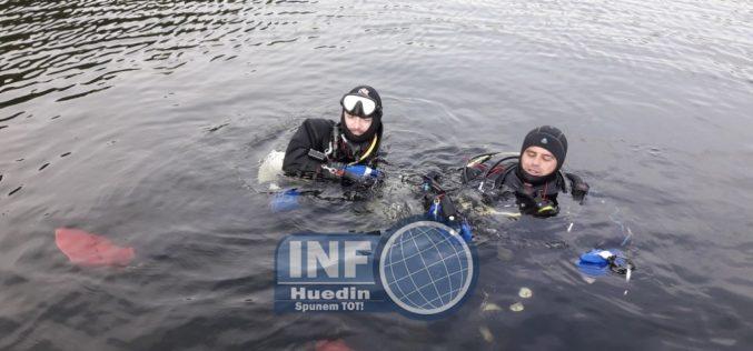 FOTO – Directorul APIA Cluj, căutat în continuare în Lacul Beliș