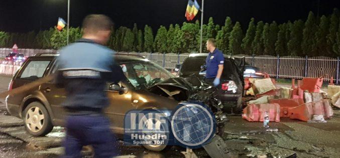 FOTO – O șoferiță din Mărgău a provocat un grav accident în față la Metro, 5 răniți