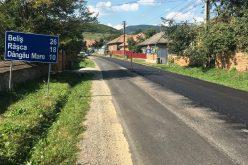 A început asfaltarea drumului judeţean Căpuşu Mare – Rîşca