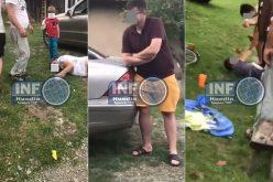VIDEO ȘOCANT – Tineri din lumea bună a Huedinului, filmați în timp ce agonizau. Beție sau droguri?