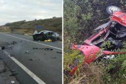 FOTO/VIDEO – Accident cu 3 morți și 2 răniți la Podul Vinerii. Unul dintre morți este Simion Moldovan