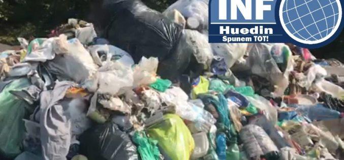 VIDEO – Gunoaiele din Chinteni, aruncate la Călățele de firma Primăriei Huedin
