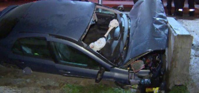 Accident grav la Beliș