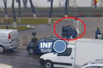 VIDEO – Autorii furtului din Parohia Călata, GĂSIȚI! Unul a fost săltat din fața Primăriei Huedin