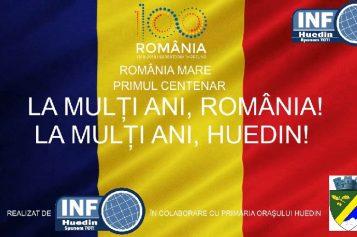 VIDEO – 100 de ani de România, 100 de ani de Huedin