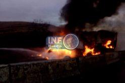 FOTO – Trafic blocat la Dumbrava – UPDATE – Traficul a fost reluat