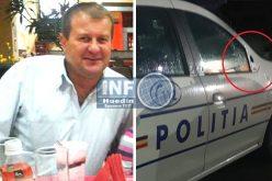 Mircea Gheorghe Briciu, șeful Postului de Poliție Ciucea, probleme cu șefii. A ASCUNS un accident avut cu mașina de serviciu
