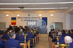 FOTO – Agentul Toadere de la Poliția Huedin, dar și agenții Postului de Poliție Căpușu Mare au fost premiați de conducerea IPJ Cluj